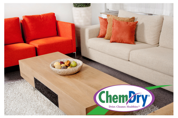 clean living room furniture